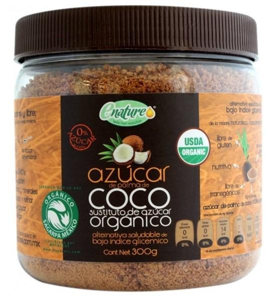 AZUCAR DE COCO SIN GLUTEN 300 G E-nature