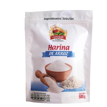 HARINA DE ARROZ 500 G CEREPAK