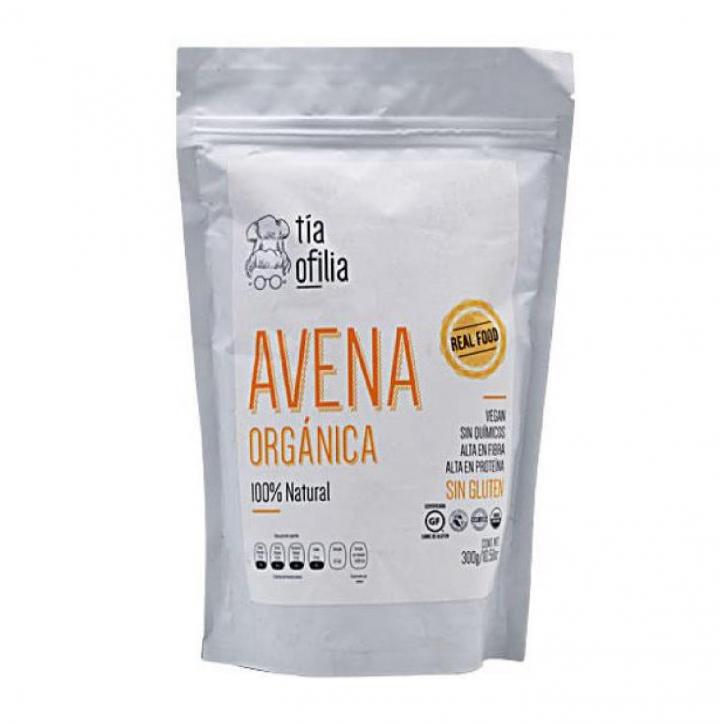 HARINA DE AVENA ORGANICA 300 G TIA OFILIA