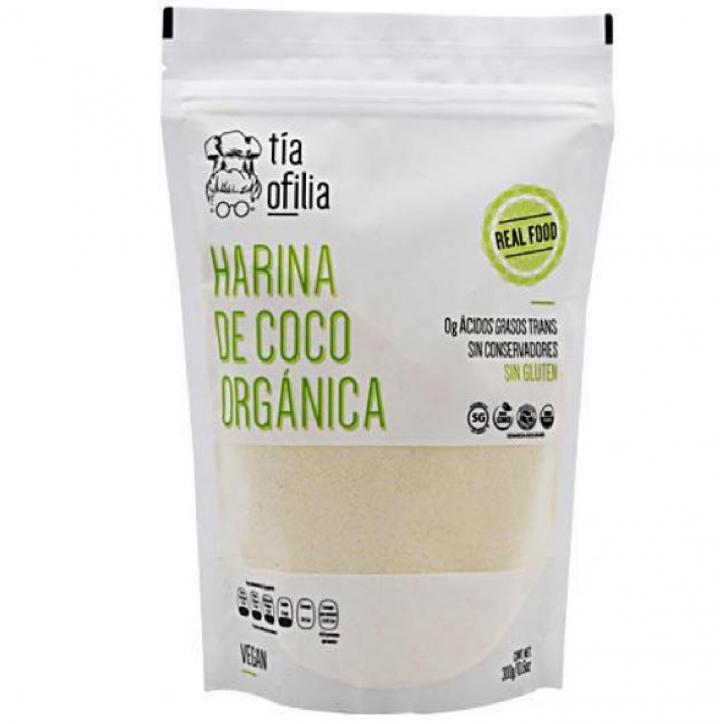 HARINA DE COCO ORGANICA 300 G TIA OFILIA