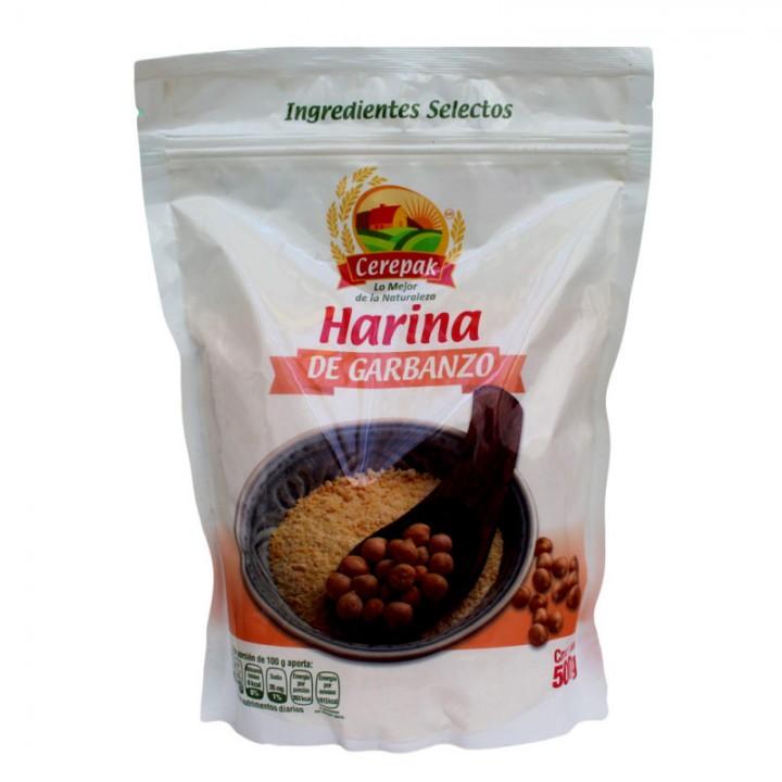 HARINA DE GARBANZO 500 G CEREPAK