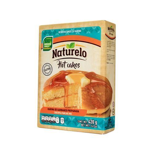 HARINA DE GARBANZO PARA HOT CAKES 420 G NATURELO